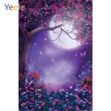 Yeele Photocall Family Flower Moon Butterfly Decor Photography Backdrops Personalized Photographic Backgrounds For Photo Studio недорого
