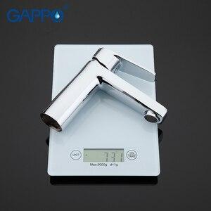 Image 5 - GAPPO basin faucet mixer chrome bathroom basin mixer tap bathroom taps torneira para banheiro wash basin sink faucet brass tap