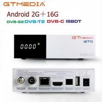 Freesat gtc decodificador DVB-S2 DVB-C DVB-T2 amlogic s905d android 6.0 caixa de tv 2 gb 16 gb + 1 ano cccam tv satélite receptor conjunto caixa de tv