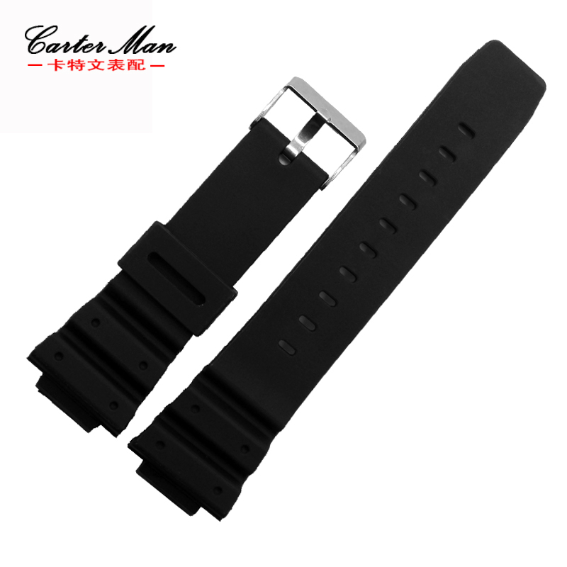 Rubber watchband special for G-SHOCK <font><b>DW</b></font>-6900 GW-M5610 <font><b>DW</b></font>-<font><b>5600E</b></font> black high quality men watch bracelet image