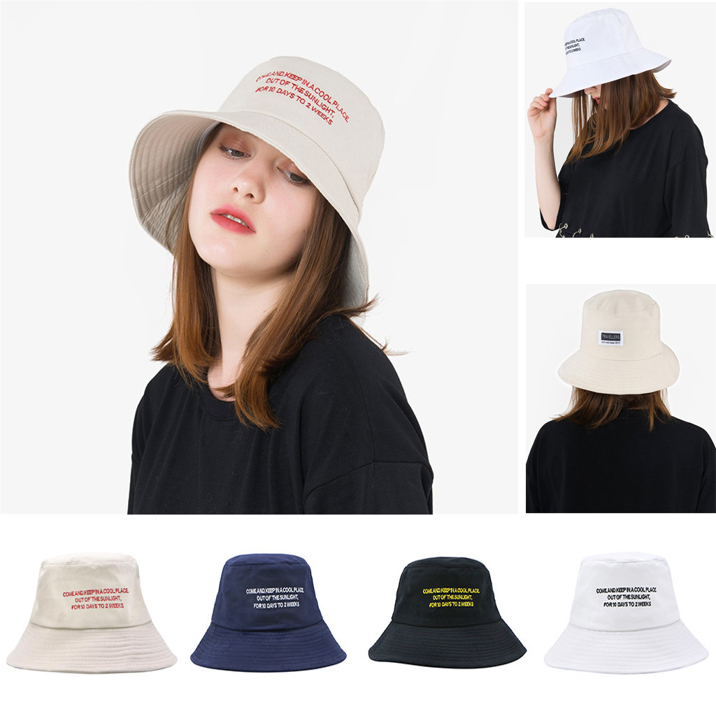 Women's Hat Comfortably Fisherman's Hat Out Casual Visor Foldable Cap Can Be Used As A Gift Z118