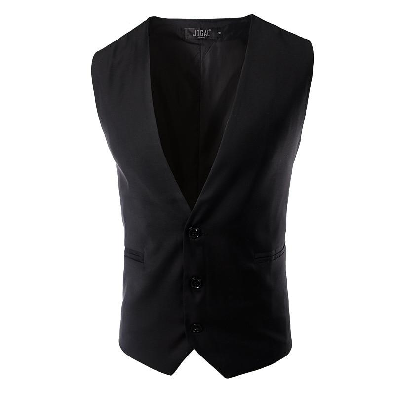 buy suit vest men brand new formal black vest suit casual slim fit business. Black Bedroom Furniture Sets. Home Design Ideas