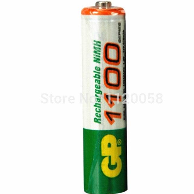 Горячие Продажи 12 шт. Высокой Мощности AAA 1100/1. 2 В Для GP Аккумуляторная NiHM Батарея 1100 мАч Новые Батареи + бесплатная Доставка 500 мАч