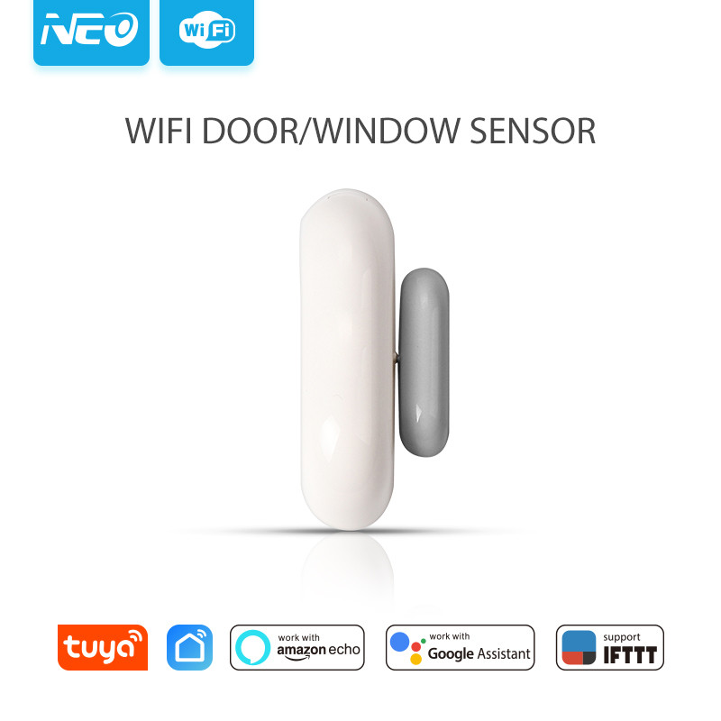 Building Automation Neo Nas-ds01w Wifi Smart Door Sensor/window Sensor Home Automation Alarm System Motion Alarm,no Expensive Hub Required