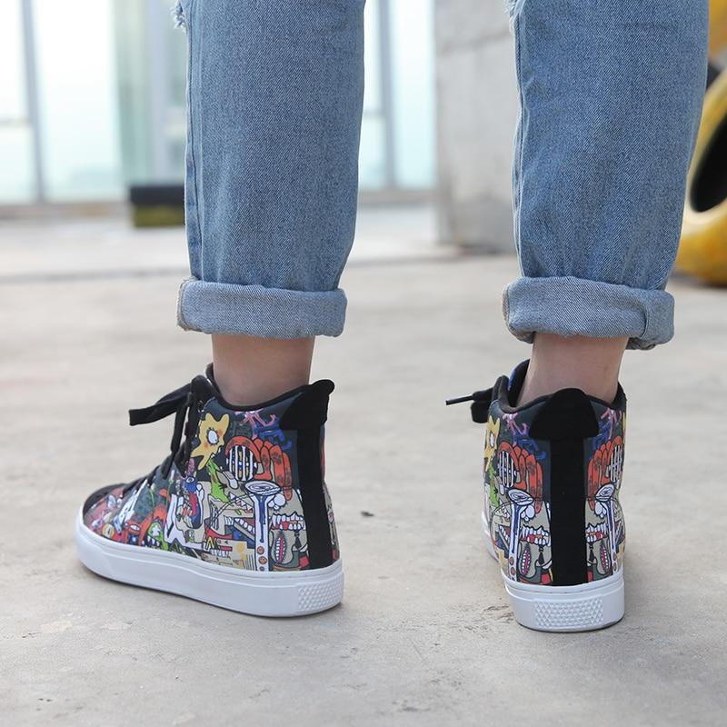 Idx Chaussures Comortable Graffiti Mode Indolore D'origine Homme rg4qXrw