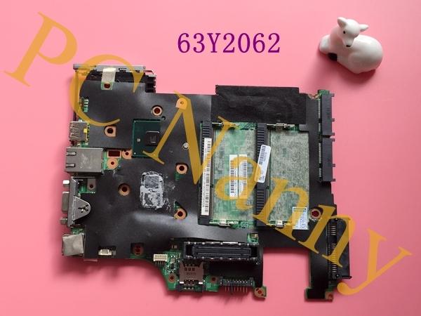 Genuino para Lenovo Thinkpad X201 placa madre del ordenador portátil 63Y2062 i5-520m QM57