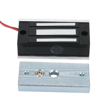 MOUNTAINONE Mini zamek elektryczny 60 KG 132lb zamek magnetyczny do drzwi Fail bezpieczne DC 12V do systemu kontroli dostępu do drzwi tanie i dobre opinie YD60KG