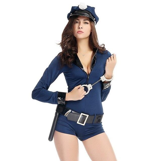 Сексуальная игра девушка из полиции
