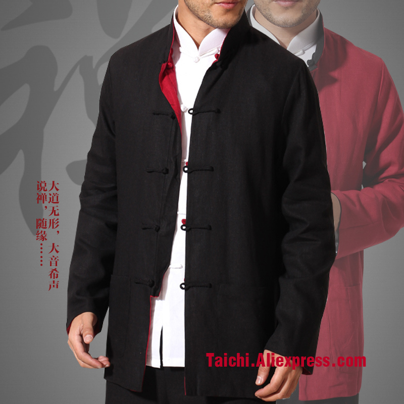 Clothes And Costume Male Clothes Of Traditional Culture Clothing Male Two-sided Wear Kungfu Wear Jacket
