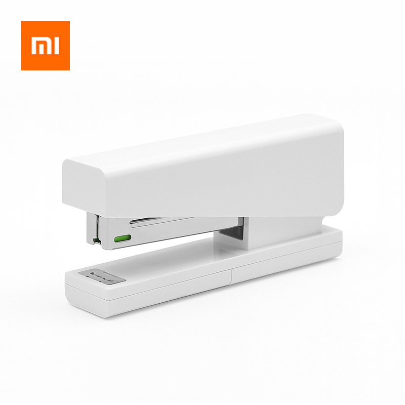 Xiaomi Lemo Manual Stapler Office School Supplies Staionery Paper Clip Binding Binder Book Sewer 24/6 26/6 Include 100 Staples