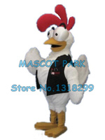pride white rooster mascot costume new custom high quality cartoon rooster chicken theme anime cosply 2962