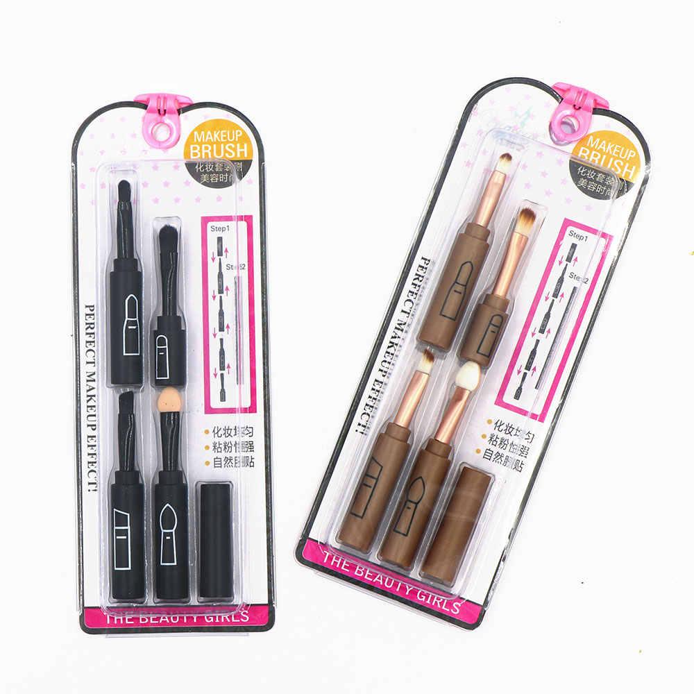 Dighealth professionnel maquillage pinceaux ensemble Portable mélange ombre à paupières sourcil lèvre crayon brosse cosmétique brosse maquillage outil