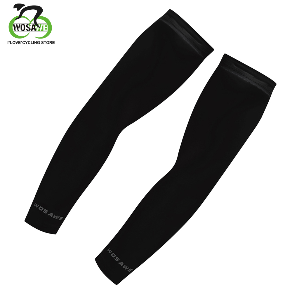 WOSAWE Unisex Manguito Ciclismo UV Cycling Armstukken Cooling Arm Mouwen Athletic Sport Skins Zon Beschermende Arm Mouw