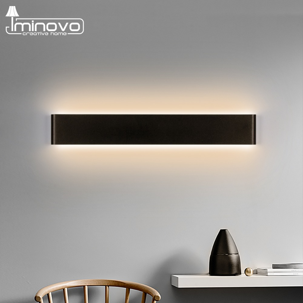 Modern LED Wall Lamp Minimalist Indoor Light Fixture Wall Sconces Stair 6W 10W Bedroom Bedside Living Room Home Hallway Lighting