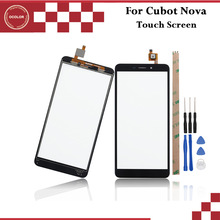 ocolor For Cubot Nova Touch Panel Touch Screen Digitizer Sensor Replacement For Cubot Nova Phone Accessories +Tools +Adhesive