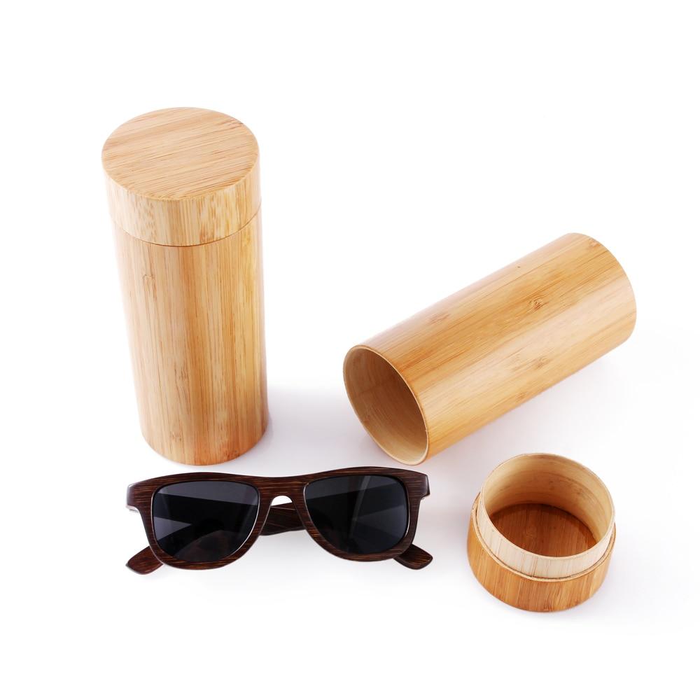 Lunettes de soleil en bambou 100% naturelles faites à la main en - Accessoires pour vêtements - Photo 3