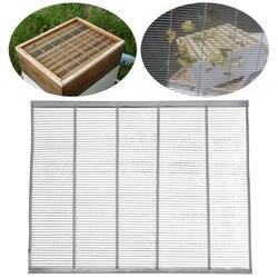 Новое поступление оцинкованной кадр пчелиный queen Excluder улавливания Net сетки Пчеловодство металла оборудования в глобальном 51x41 см