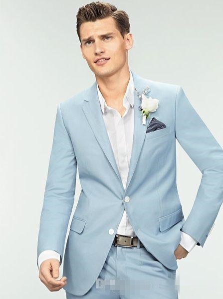 High Quality Light Blue Suits for Men-Buy Cheap Light Blue Suits