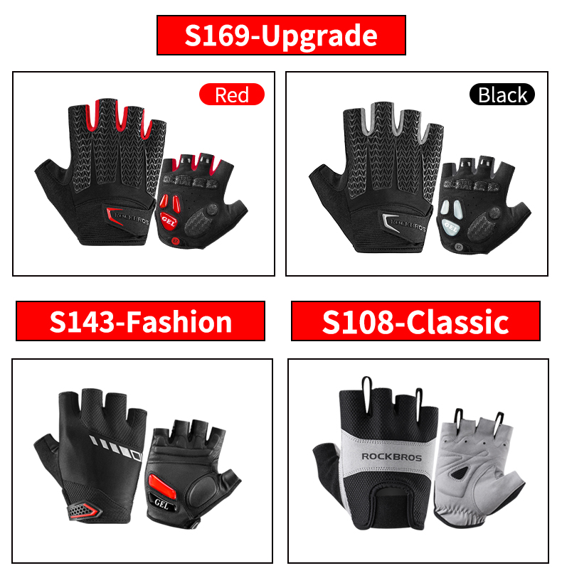 HTB1bS64OIbpK1RjSZFyq6x qFXaW - ROCKBROS Cycling Gloves MTB Road Gloves Mountain Bike Half Finger Gloves Men