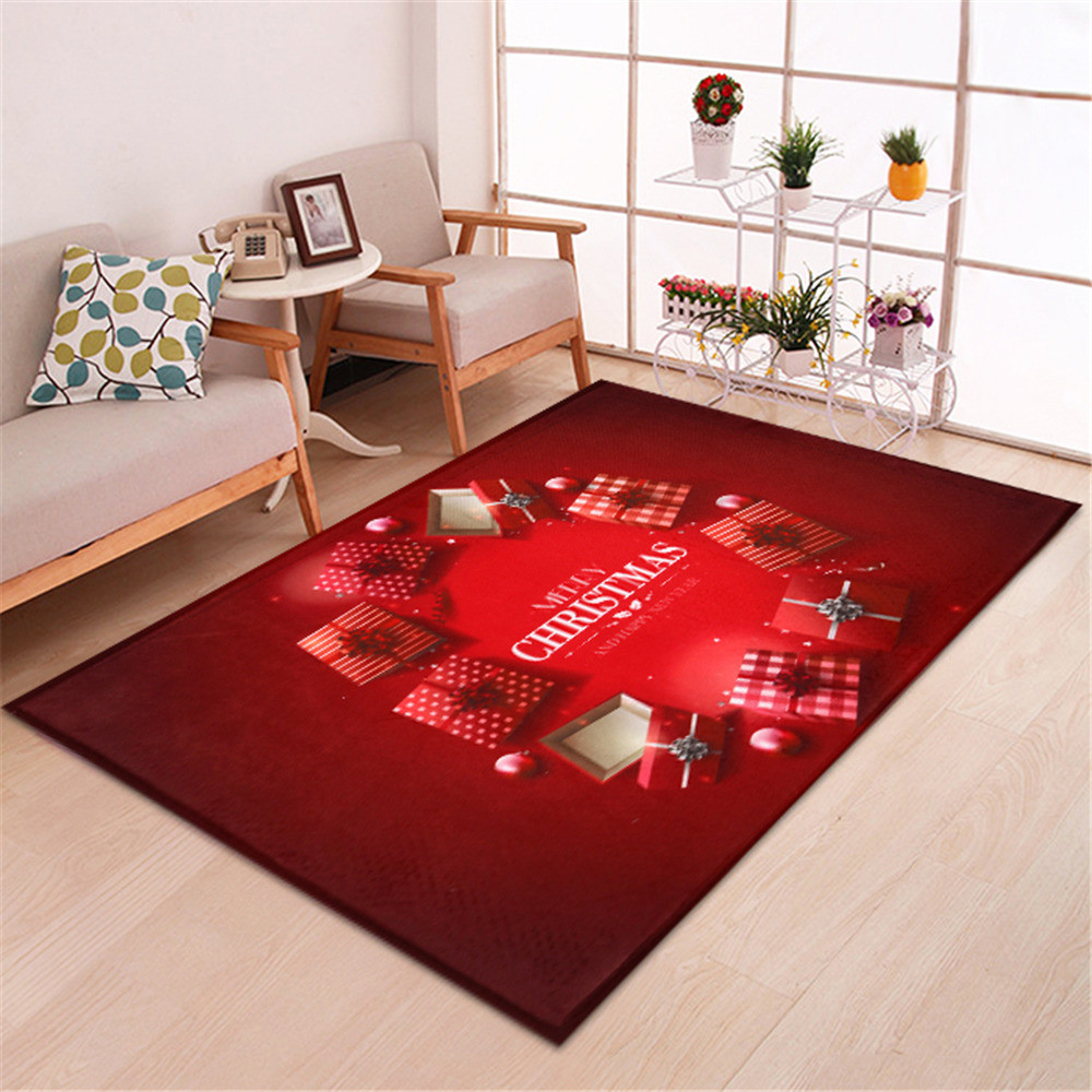 Merry Christmas Welcome Doormats Indoor Home Carpets Decor 40x120CM merry christmas decoration