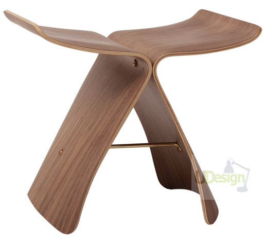 SQUD Modern Design Furniture Replica Sori Yanagi Butterfly Stool For Living Room(China)