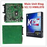Best Selling New KTAG Main Unit SW V2 13 HW V6 070 Auto ECU Programming No