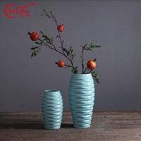 Hot Selling Antique Chinese Porcelain Vases Blue for Wedding Garden Home Living Room Decoration Large Flower Vases Height 30CM
