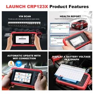 Image 4 - 起動x431 crp123X obd2スキャナー自動コードリーダー車の診断ツールでeng abs srs診断スキャナー自動車ツールcrp123