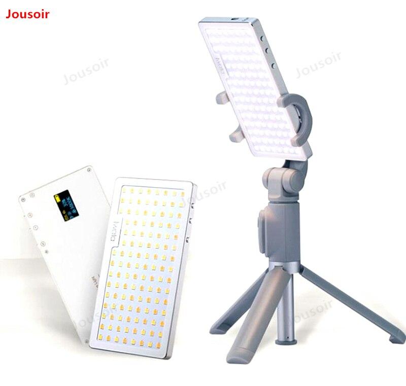 Светодио дный заполняющий свет фотографии камера свет открытый Би цветовой температуры встроенный аккумулятор телефона красота видео съе