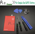 Oneplus one battery 3000mah BLP571 Li-on Battery built-in For  Oneplus one Cell phone With repair tools + IN stock