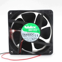 For NIDEC TA450DC B34978-16 2pin 24V 0.41A 120*120*38mm Inverter cooling fan