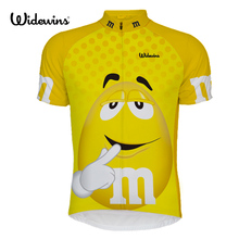 Maillot Ropa Ciclismo 2017 yellow MM Pro Team Cycling Jersey MTB bicycle Shirt Bike Clothes Short Sleeve Wear Sportwear 6525