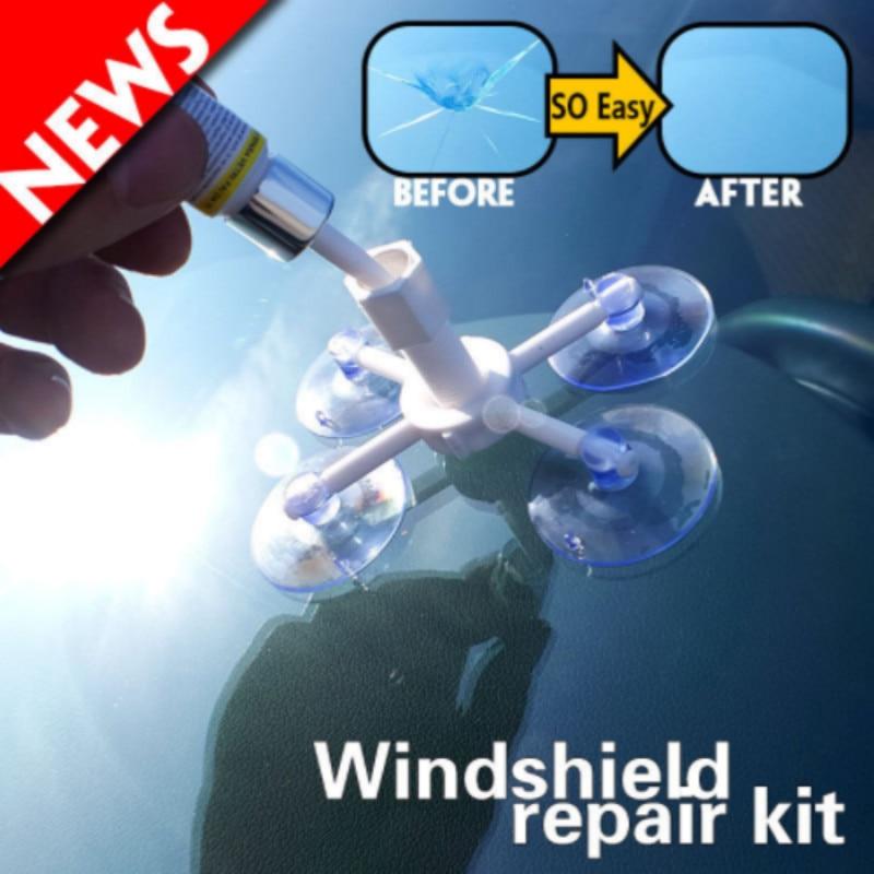 Auto glass repair fluid .Damaged glass is restored as is. for Chevrolet sail Cruze Sonic LOVR RV Malibu Trax CAPTIVA Epica