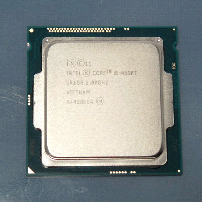 Intel Core i5 4590T 2 0GHz Quad Core 6M 35W LGA 1150 Processor i5 4590T CPU