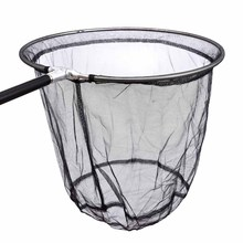 2.05M Portable Round Brail Folding Fishing Net Landing Net 5 Section Extendable Stainless Steel Pole Handle 43-170cm Fish Tackle
