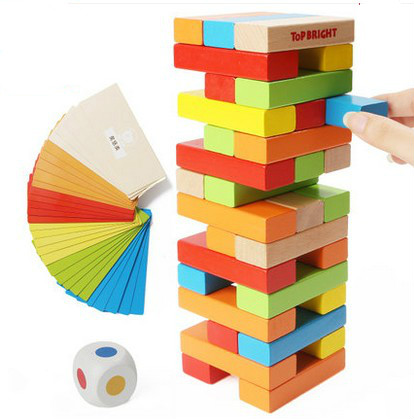 c18b95468a31 Children s building blocks sobbed folding enjoyed parent-child interaction layer  upon layer fold music game high wooden toys