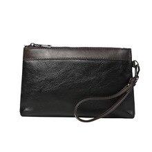 Luxury Wallets With Coin Pocket Long Zipper Coin Purse for Men Clutch Business Male Wallet Double Zipper Vintage Large Wallet недорого