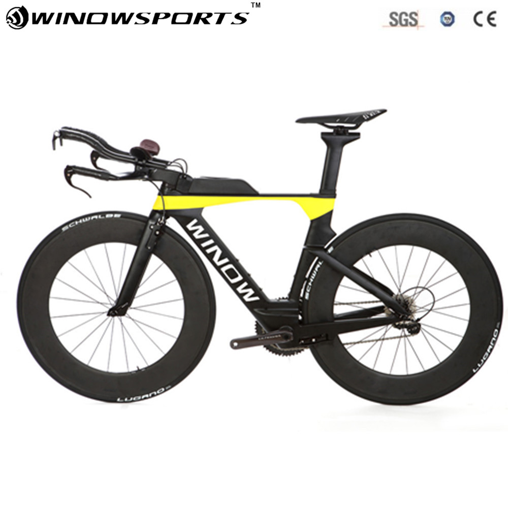 цены 2018 Aero Time Trail Bike TT Carbon bike carbon Road Complete Bike 22 Speed 5800/6800 Groupset Full Carbon Road Complete Bike