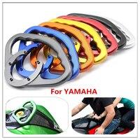 Passenger grab handles for Yamaha R1 R3 R6 R25 MT07 MT09 FZ1 FZ6 XJ6 2004 2011 2016 motorcycle Frame Cover Ornamental Moulding