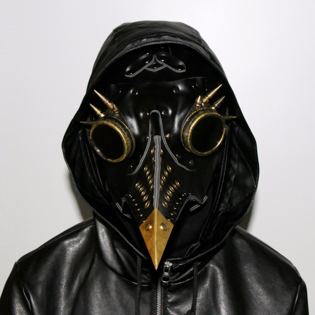 quick sell through the amazon ebay hot assault steam punk plague beak mask halloween props gift