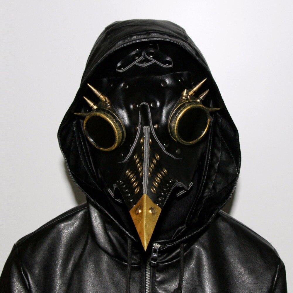 Vente rapide à travers l'amazon ebay chaud assaut vapeur punk peste bec masque Halloween accessoires cadeau