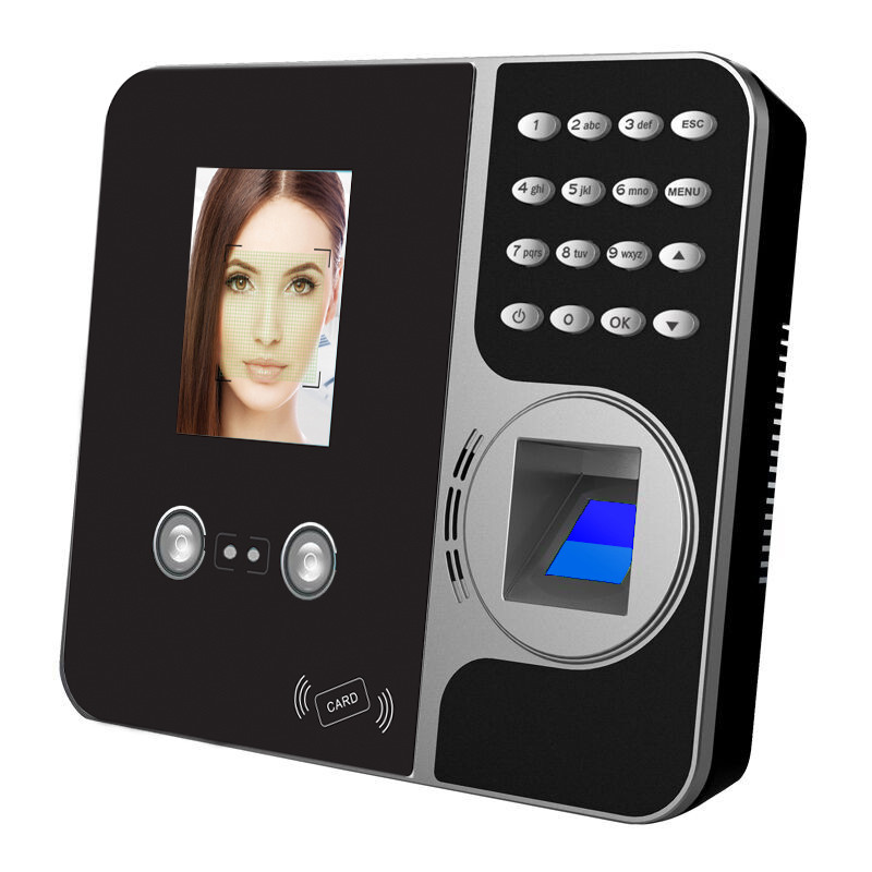 TCP/IP 1000 FACE USERS FINGERPRINT TIME ATTENDANCE FACE RECOGNITION TIME ATTENDANCE OFFICE MANAGEMENT MACHINE HR Manage system цена и фото