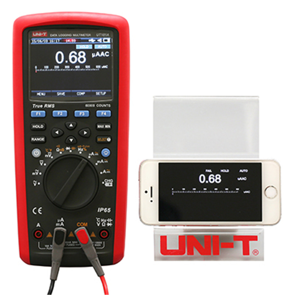 UNI-T UT181A Digital Multimeter True Rms Tester Datalogging DMM Cap Temp Meter