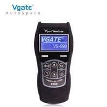 Uniwersalny Czytnik Kodów Błędów Diagnostyczny OBD2 Auto Skaner Vgate Maxiscan VS890 Scan Tool VS-890 PK ELM327 V1.5 OBDII OBD 2 VS 890