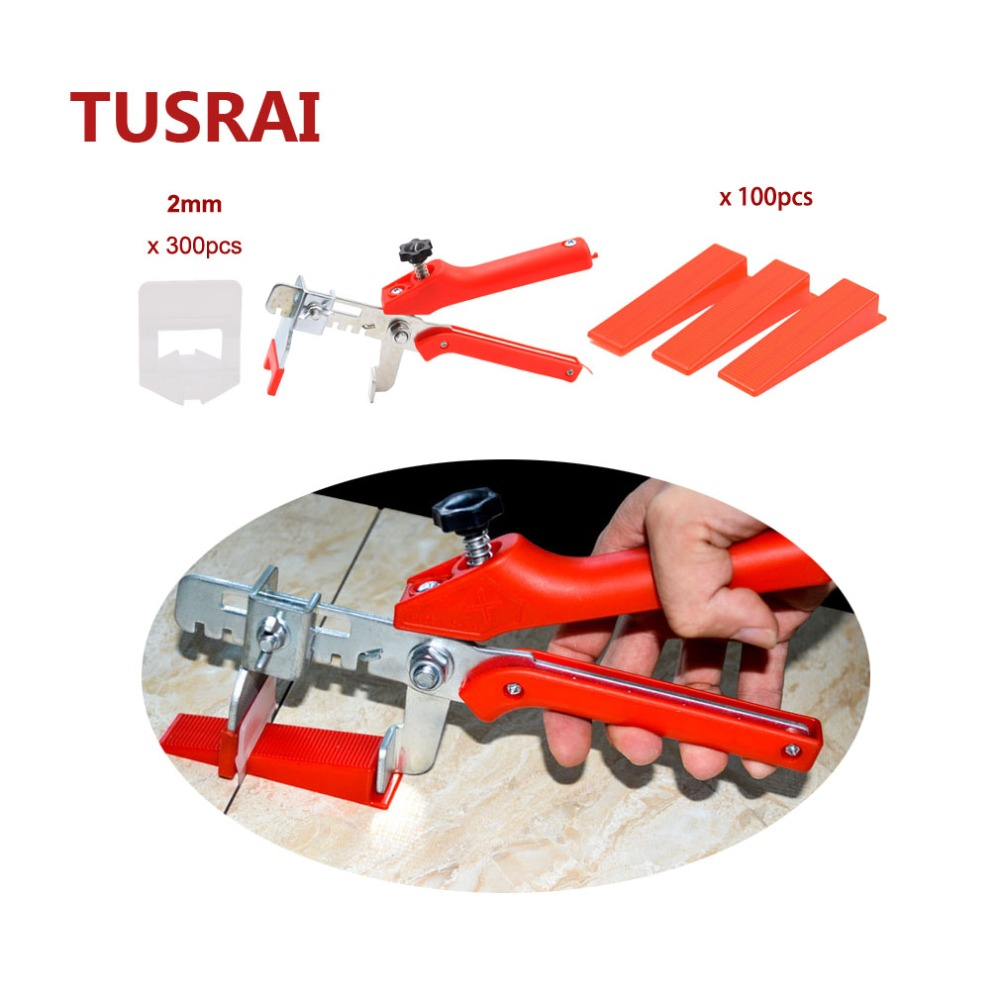 Tile Leveling System Kit 2mm 3 32 401pcs Ceramic Wall Alignment Floor Leveling Spacer Clips 300pc