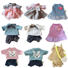 Doll-Clothes Clothes-Accessories Dress Skirt Plush-Toys 30cm Cat/bear for Sweater Gifts