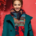 Autumn and Winter fashion casual women scarf knitted long scarf women's apparel & accesories F044