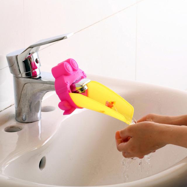 Bathroom Faucet Extender For Children Toddler Kids Hand Washing Kids Hand Washing Faucet  Baby Hand Wash Helper Bathroom Sink