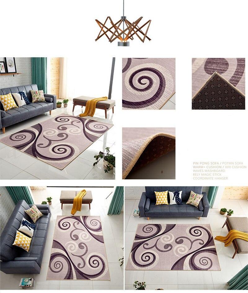 área tapete tapete quarto moderno yoga tapete