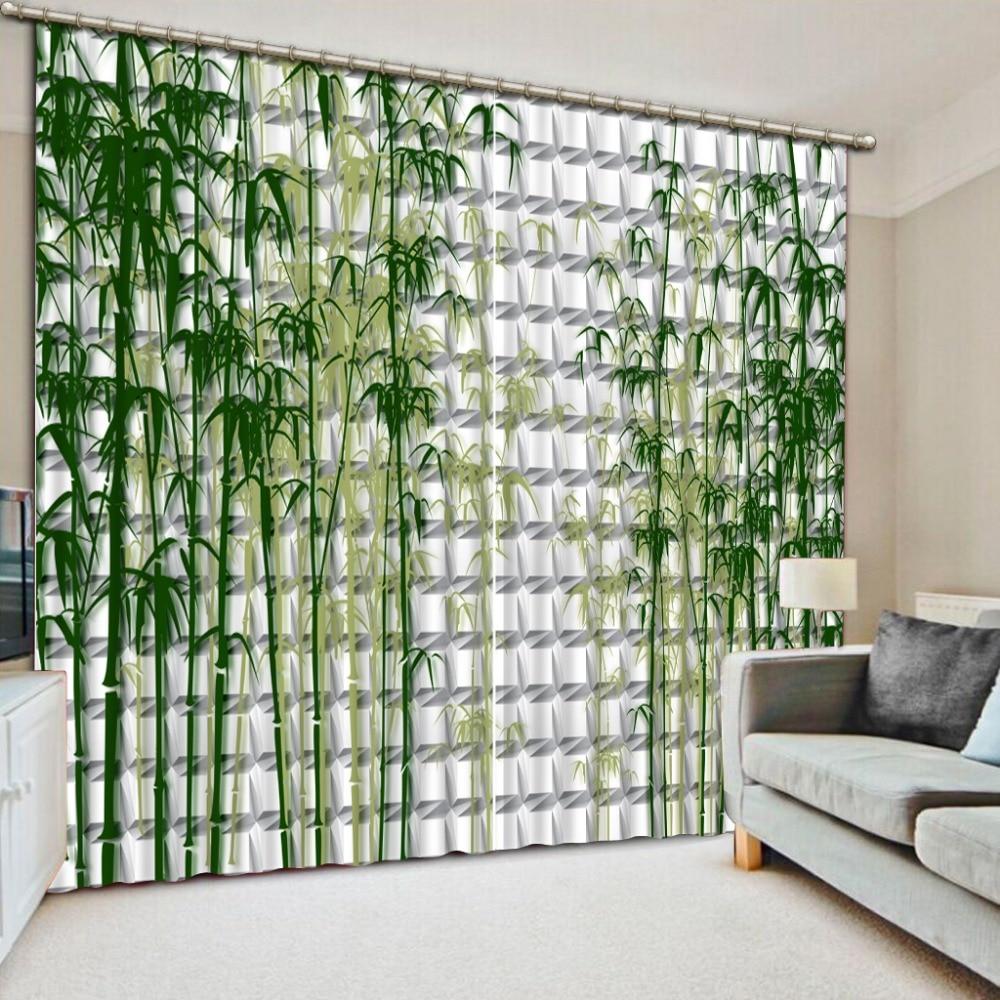 Top classique 3D Style européen de haute qualité personnalisé bambou maison chambre décoration